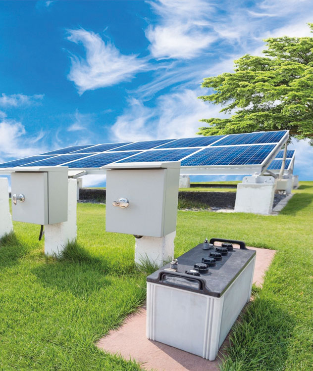 Sai Office Solar Batteries